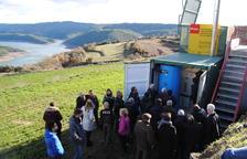 Calefacció central amb biomassa per a tot un poble de la Noguera