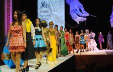 La desfilada dels dissenys de moda actual.