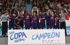 El Barça no perdona y suma su novena Copa Asobal consecutiva
