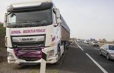 Muere un vecino de Barbens en una colisión en la autovía en Bellpuig