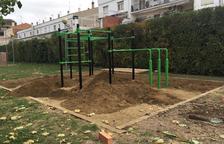 Zona de entreno de 16.000 euros en el parque municipal