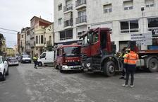 Muere una mujer atropellada por un camión en el interior de Arbeca