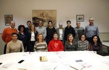 La nova junta del Club Bàsquet Lleida pren possessió