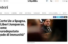 El presidente del Europarlamento insta al Supremo a cumplir con la sentencia