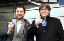 Puigdemont y Comín recogen la acreditación de eurodiputados y asistirán al próximo pleno