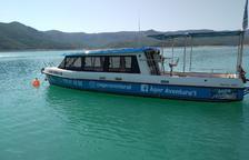 Territorio sanciona con 50.000 euros a una empresa de Àger por navegar por Mont-rebei
