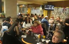 Sopar solidari amb 30 comensals a la Seu per passar la Nit de Nadal en companyia