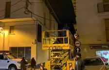 Bossòst soterra el cableado eléctrico por seguridad