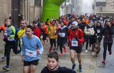 Cuarta Sant Silvestre de Guissona con récord