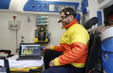 El SEM inicia la prueba piloto en Lleida de la nueva ambulancia conectada a la red 5G