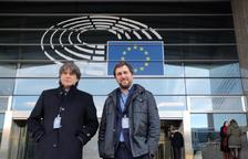 La Eurocámara reconoce como diputados a Junqueras, Puigdemont y Comín desde julio