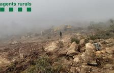 Los Rurales denuncian una tala forestal ilegal en el Pallars Jussà