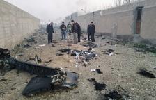 Moren els 176 ocupants d'un avió ucraïnès a l'estavellar-se a Teheran