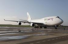 Alguaire ja rep gegants de l'aviació amb el seu primer Boeing 747