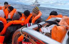 Rescatats 237 migrants en aigües del Mediterrani
