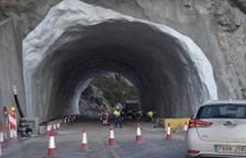 Les galeries del túnel de Tres Ponts, a punt a l'abril per obrir-lo aquest any