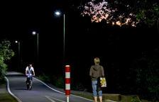 Esterri estrena un sistema pioner de fanals 'intel·ligents' per il·luminar els carrers només si hi ha persones