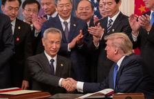 EUA i Xina segellen una transcendental primera fase de l'acord comercial