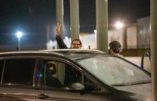 Cuixart surt de la presó en el primer permís després de 822 dies tancat