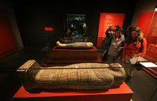 La exposición sobre las momias egipcias, entre 2012 y 2013, la de mayor éxito de público en 30 años.