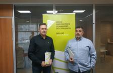 Jaume Bernis y Jordi Siscart, del sector porcino de JARC.