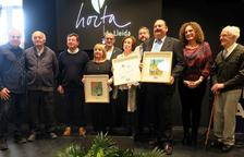 Josep Maria Aragonés, Dolors Sansa i Montserrat Vidal, premis Horta