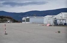 Lloguen les tres últimes parcel·les per a hangars a l'aeroport de la Seu