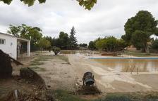 Estado de las piscinas tras el temporal de octubre de 2019.