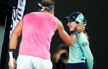 Nadal pasa ronda y Muguruza se queda sola en el cuadro femenino