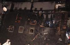 Els Pompièrs d'Aran sufoquen tres incendis simultanis, dos en habitatges
