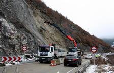El paso alternativo en la N-260 en el Pont de Bar se mantendrá hasta que se implementen más medidas