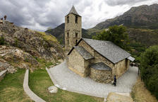 Luz y sonido para explicar la historia del románico en Sant Joan de Boí
