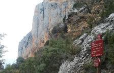 Cerrado 'sine die' Mont-rebei tras un desprendimiento de rocas y árboles