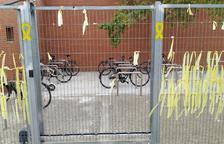 Càmeres als pàrquings de bicis tancats de la UdL