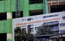 Imagen de carteles de venta de viviendas.