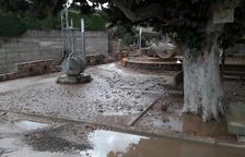 Treballs per restituir la xarxa d'aigua de set municipis que es va endur la riuada