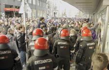 Deu detinguts a la vaga al País Basc i Navarra