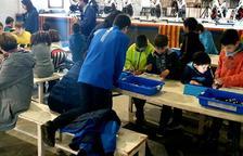 Más de 35 niños y jóvenes en el taller de robótica de Vilaller