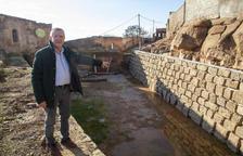Puigverd renova la teulada de l'antic molí fariner