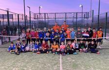 Torneig de pàdel de menors al Club Tennis Balaguer