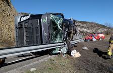El Pirineu, en peu de guerra per exigir la millora de l'N-230 després de l'enèsim accident