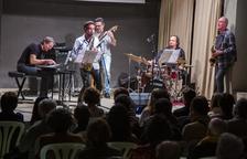 La banda Afro Blue 'conquista' el castell de Concabella al ritme del seu millor jazz
