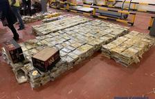 Partida de 1.400 quilos de cocaïna de la xarxa de la Seu i Barcelona