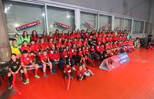 El Club Futbol Sala Corbins presenta a sus 11 equipos