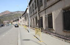 Más perímetro de seguridad en casas en ruina de La Pobla