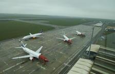 Alguaire és l'aeroport d'Europa amb més avions Boeing 737