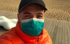 Un entrenador de Tàrrega, atrapat i espantat a la Xina