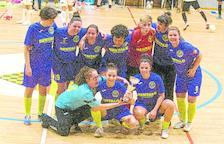 Futsal i Grupo Elías s'enduen la Copa Lleida