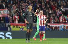 El Atlético pega primero