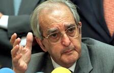 Fallece el exministro de Exteriores Fernando Morán
